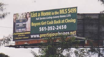 Prestigious Homes Billboard