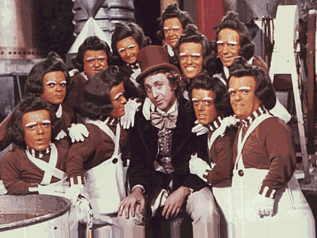 Oompa Loompa song from the Willy Wonka's Chocate factory